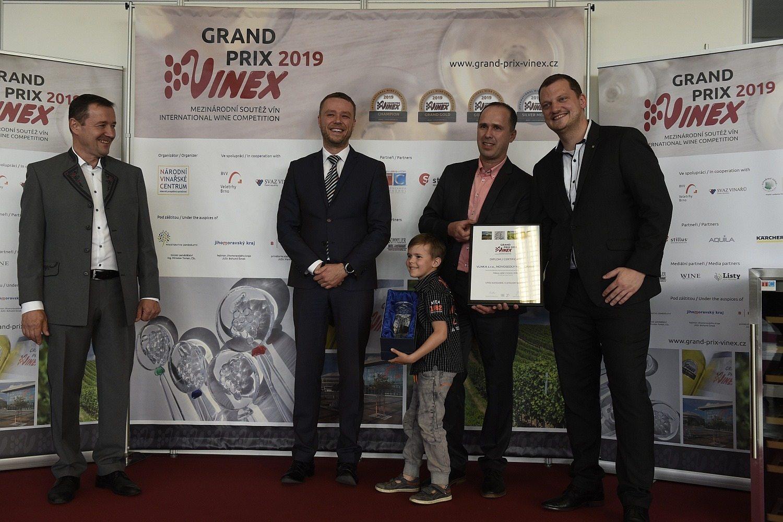 Mezinárodní soutěže vín GRAND PRIX VINEX